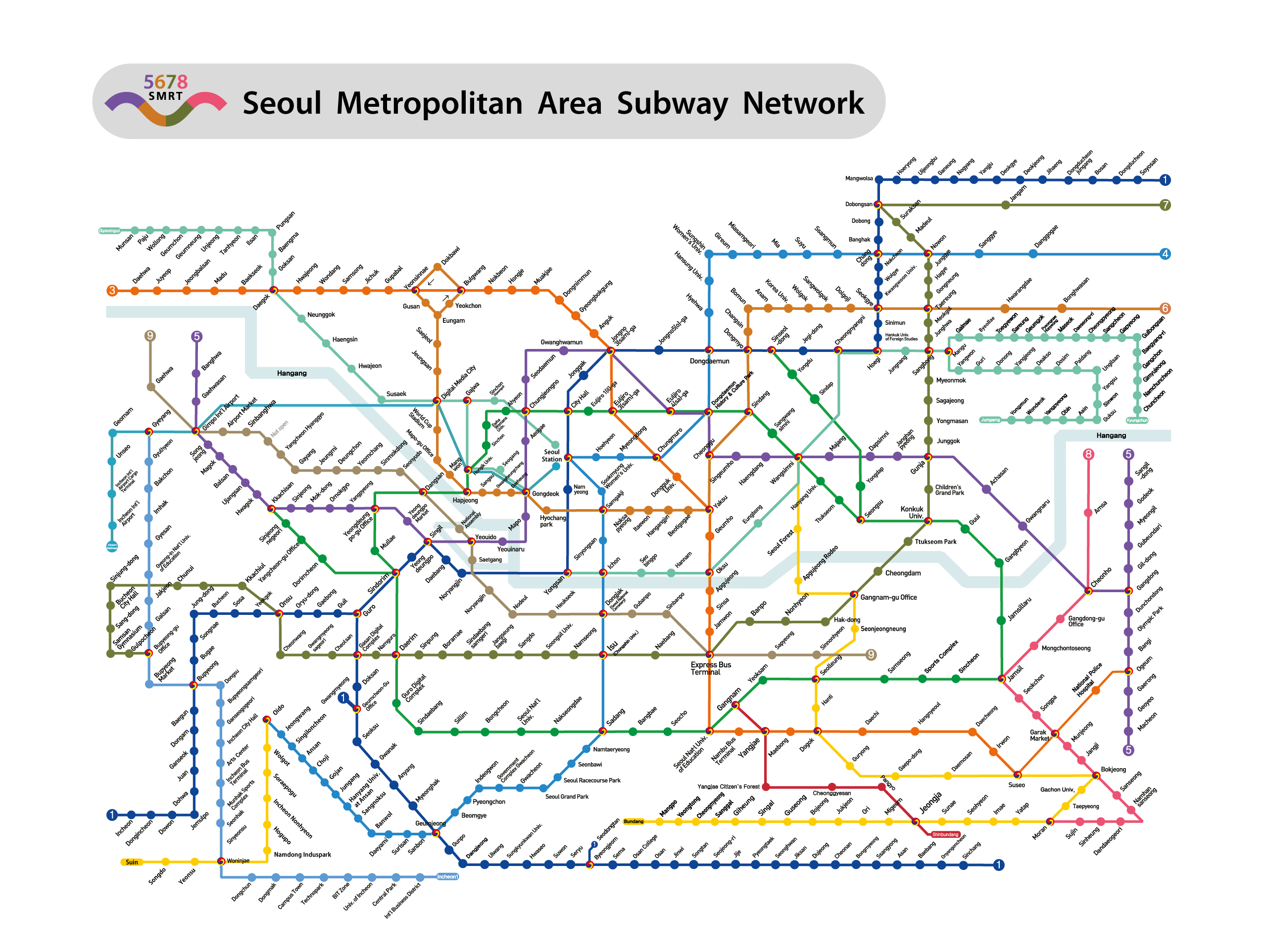 Seoul Subway Map Chinese.Seoul Subway Guide Seoul Jeju Everland Lotteworld Trip To Korea